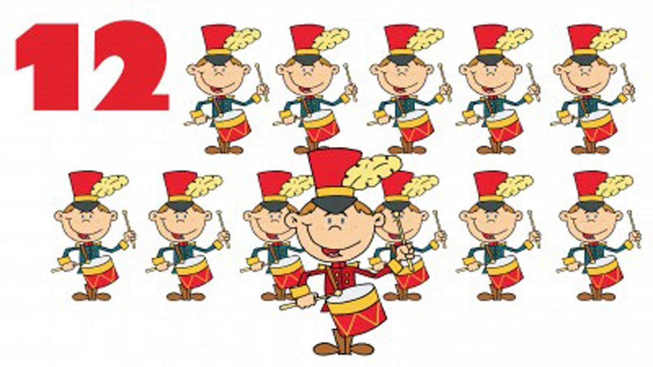 12 days of christmas sing along youtube