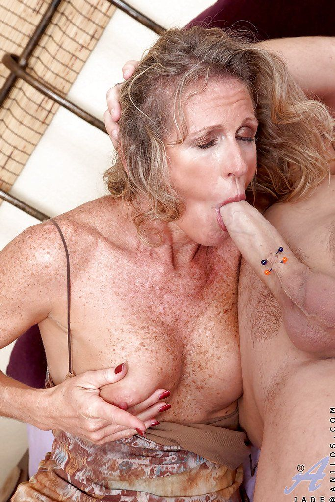 Freckled tits mature
