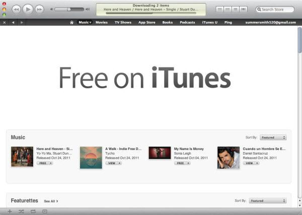 How to free songs on itunes