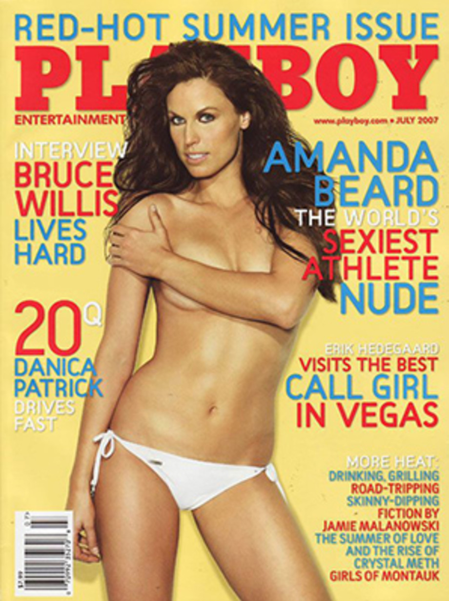 Hot girl athletes nude in playboy